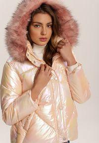 Różowa kurtka pikowana Renee