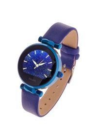 Niebieski zegarek GARETT smartwatch, elegancki