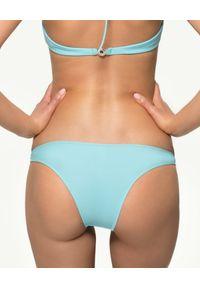 MISSION SWIM - Dół od bikini Bella. Kolor: niebieski. Materiał: materiał. Wzór: paski