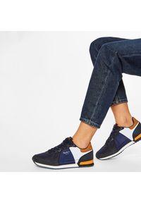 Niebieskie półbuty Pepe Jeans z cholewką