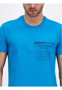 Niebieski t-shirt Versace Jeans