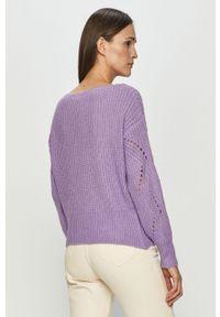 Fioletowy sweter Haily's casualowy, z długim rękawem #5