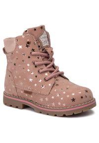 Lasocki Kids - Trapery LASOCKI KIDS - CI12-2122-08 Pink. Okazja: na spacer. Kolor: różowy. Materiał: skóra, zamsz. Szerokość cholewki: normalna. Sezon: zima