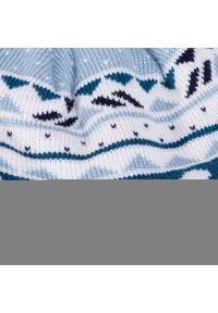 Reima - Czapka REIMA - Seimi 518575 6181. Kolor: niebieski. Materiał: wełna, akryl, materiał