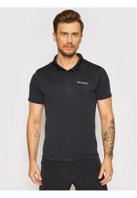 columbia - Columbia Polo Zero Rules™ 1533303 Czarny Regular Fit. Typ kołnierza: polo. Kolor: czarny
