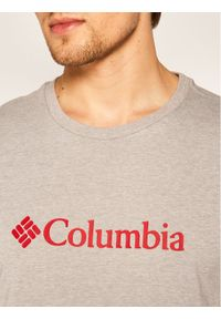 columbia - Columbia T-Shirt CSC Basic Logo EM2180 Szary Regular Fit. Kolor: szary #5