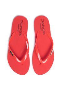 Czerwone japonki Calvin Klein Swimwear