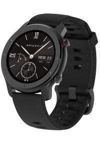AMAZFIT - Amazfit smartwatch GTR 42 mm Black. Rodzaj zegarka: smartwatch. Kolor: czarny