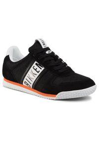 Czarne sneakersy Bikkembergs