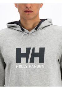 Helly Hansen Bluza Hh Logo 33977 Szary Regular Fit. Kolor: szary