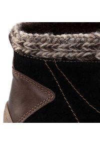 Łukbut - Botki ŁUKBUT - 16920 Czarny. Kolor: czarny. Materiał: skóra, nubuk, zamsz, materiał. Szerokość cholewki: normalna. Sezon: zima, jesień. Styl: elegancki #8