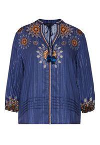 Niebieska bluzka Desigual