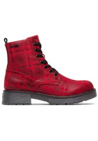 Czerwone botki Tom Tailor #7