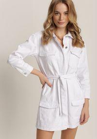 Biała kurtka Renee