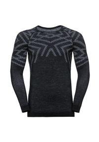 Bielizna termoaktywna męska Odlo Natural Warm Shirt 110712. Materiał: materiał, wełna, syntetyk, włókno, poliamid, poliester