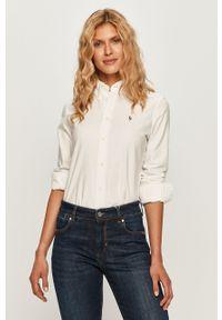 Biała koszula Polo Ralph Lauren casualowa, na co dzień