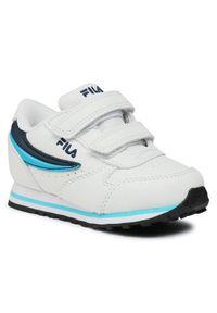 Fila Sneakersy Orbit Velcro Infants 1011080.92E Biały. Kolor: biały