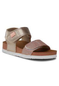 Złote sandały Gioseppo