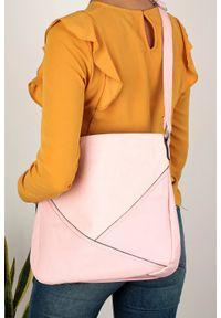 Casu - Różowa torebka listonoszka casu ah-90. Kolor: różowy