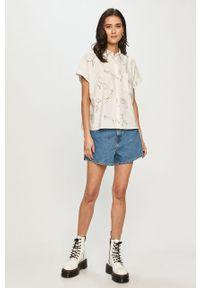 Biała koszula Levi's® krótka, na co dzień, z krótkim rękawem