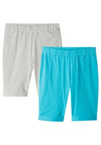 Szare spodnie bonprix melanż, na lato