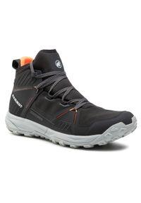 Czarne buty trekkingowe Mammut trekkingowe