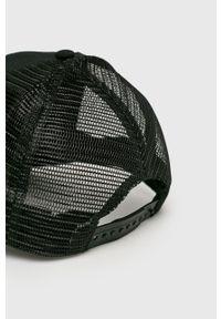 Czarna czapka z daszkiem Jack Wolfskin gładkie