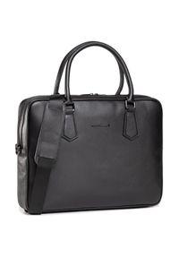 Czarna torba na laptopa Karl Lagerfeld