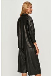 Czarna koszula MAX&Co. na co dzień, długa