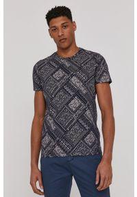 medicine - Medicine - T-shirt Modern Africa. Kolor: niebieski. Materiał: bawełna, dzianina
