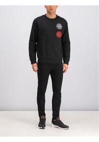 MCQ Alexander McQueen Bluza 415099 RNT17 1000 Czarny Regular Fit. Kolor: czarny