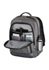 Szary plecak na laptopa hama biznesowy