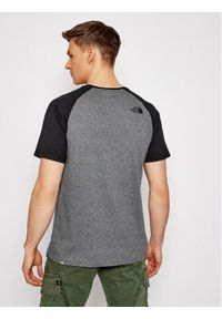 The North Face T-Shirt Raglan Easy Tee NF0A37FVJBV1 Szary Regular Fit. Kolor: szary. Długość rękawa: raglanowy rękaw
