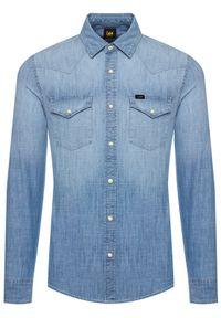Niebieska koszula casual Lee