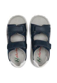 Niebieskie sandały Naturino na lato, klasyczne