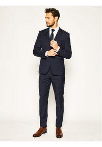 Niebieski garnitur Hugo