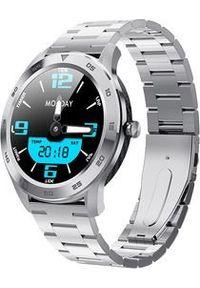 Smartwatch Smart And You SW10 Combo EKG Srebrny (4E85-256B3). Rodzaj zegarka: smartwatch. Kolor: srebrny