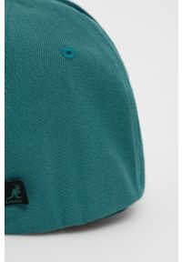 Kangol - Czapka z daszkiem. Kolor: zielony