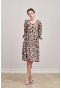 Marie Zélie - Sukienka Odette Noli. Materiał: bawełna, wiskoza, tkanina, materiał