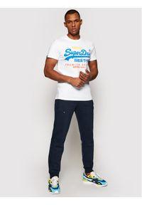 Niebieskie spodnie dresowe Superdry