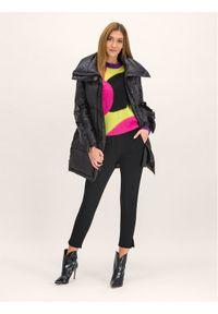 Czarne spodnie materiałowe Manila Grace