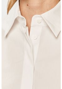 Biała koszula Silvian Heach klasyczna, na co dzień