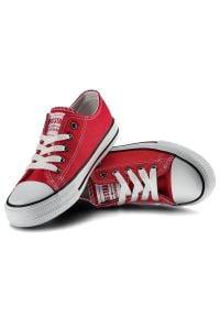 Big-Star - Trampki BIG STAR FF374201 603 Czerwony. Kolor: czerwony #2