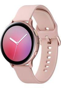 SAMSUNG - Smartwatch Samsung Galaxy Watch Active 2 Różowe złoto (SM-R820NZDAXEO). Rodzaj zegarka: smartwatch. Kolor: złoty, różowy, wielokolorowy