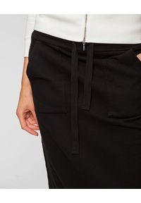 Deha - DEHA - Długa bawełniana spódnica. Okazja: na co dzień. Kolor: czarny. Materiał: bawełna. Długość: długie. Styl: casual #5