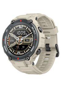 Brązowy zegarek AMAZFIT smartwatch
