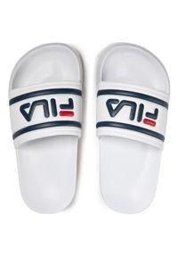 Fila - Klapki FILA - Morro Bay Slipper Jr 1010934.1FG White. Kolor: biały. Materiał: materiał. Sezon: lato. Styl: klasyczny