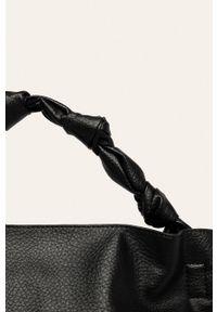 Czarna shopperka ANSWEAR na ramię