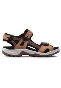 Brązowe sandały trekkingowe ecco
