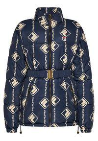 Niebieska kurtka puchowa Fila